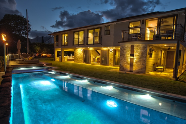 Ali'i Zen Haven - luxurious home with pool, spa, great views photo