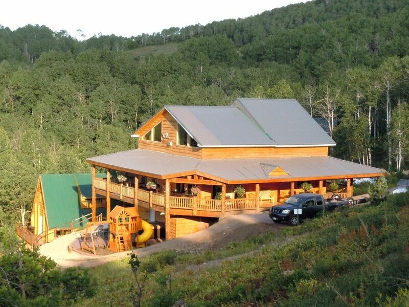 Cabins in High Mountain photo
