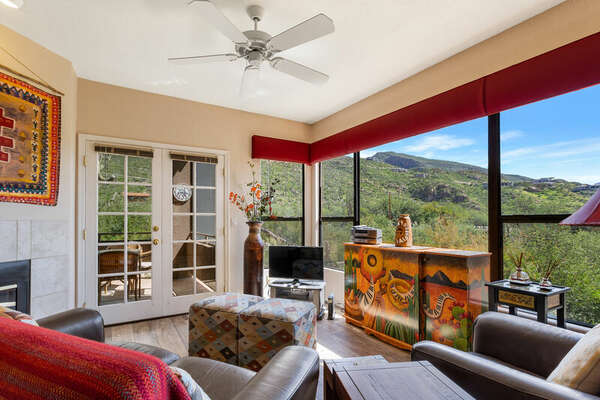 TU - View at Ventana Canyon photo
