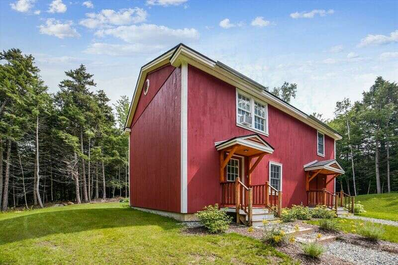 Brand new construction!This private, single family home has been newly completed in August 2020! In a centrally located yet quiet neighborhood of Stowe this two bedroom, one bathroom home was designed with a small family in mind. The open concept kitchen and living area allows you to participate in the family's activities while still preparing meals. Both bedrooms share a full bath on this upper level of the home. The lower level contains a separate and spacious officewith a Queen pull-out sofain addition to the laundry area, which is set up to house your ski gear. Comfortable and modern furnishings provide ample space for everyone to relax together. The large yard outdoors completes the full package of privacy. You will find all the conveniences of your own home and more here at Winterbird Cottage!