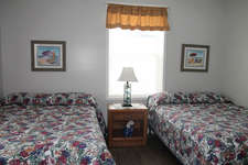 2nd bedroom with 2 full size beds