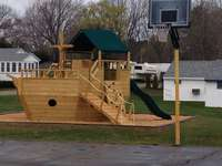 New playset for children, my 7 year old grand daughter loves it.
