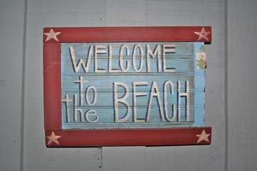 Indeed, you will feel welcome at this amazing beach home on Seabrook Island!