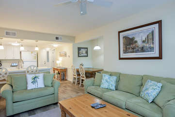 This villa is great for families visiting Seabrook Island.