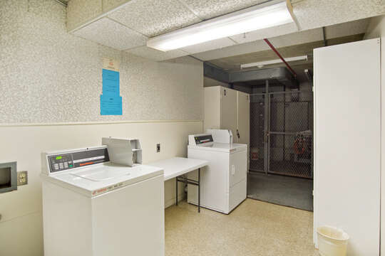 Laundry room on each floor