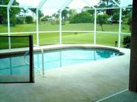 Electrically heated pool