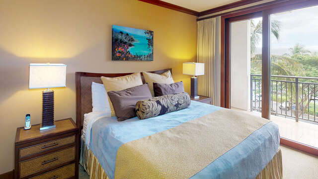 Master Bedroom with a Private Lanai
