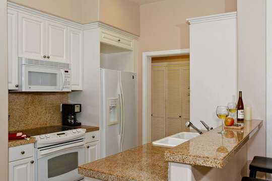 The Home has a Fully Equipped Kitchen