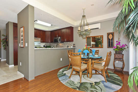 Dining Area and Newly Remodeled Kitchen