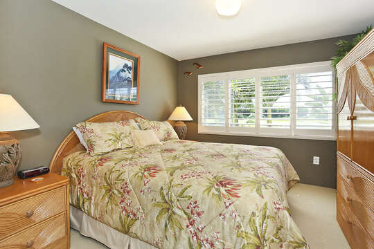 Master Bedroom overlooking the Golf Course