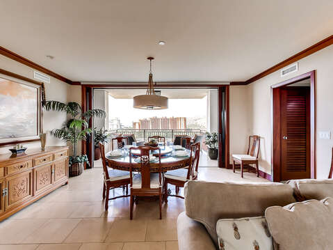 Dining Area with a View to the Lanai