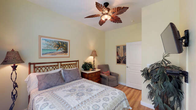 Second Bedroom, with a Queen Bed