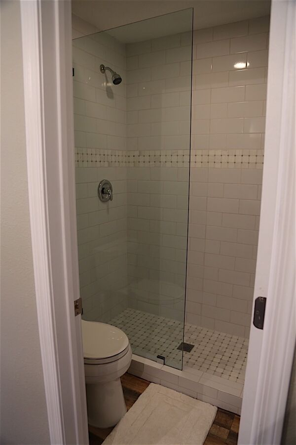 Standing Shower in Master Bath