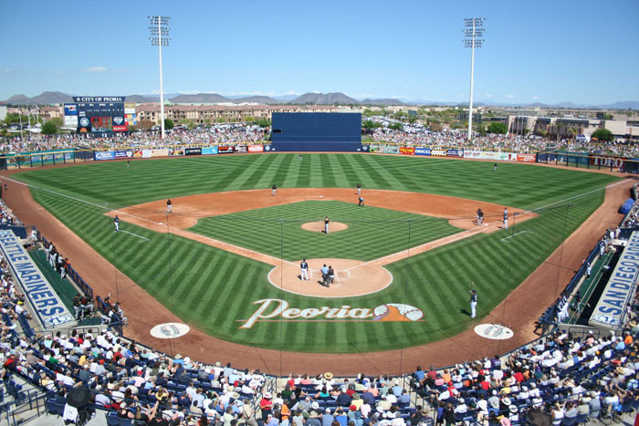 A short 15 minute drive brings you to the Peoria Sports Complex where you can watch the Mariners, Padres, or the Peoria Javelinas!