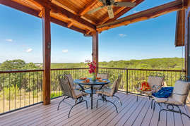Porch with Hill Country View