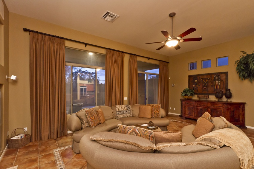 Family Room Pool View