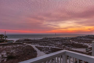 Stunning sunsets to be viewed from the 2nd floor balcony