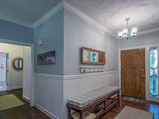 Professionally decorated with many lovely touches, this home is a special retreat.