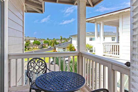 Lanai off Bedroom 2 and 3