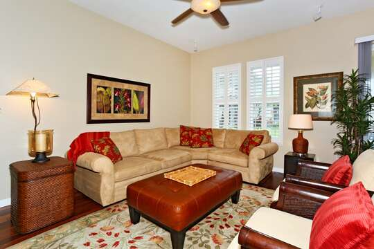 Spacious Living Area with Comfortable Seating