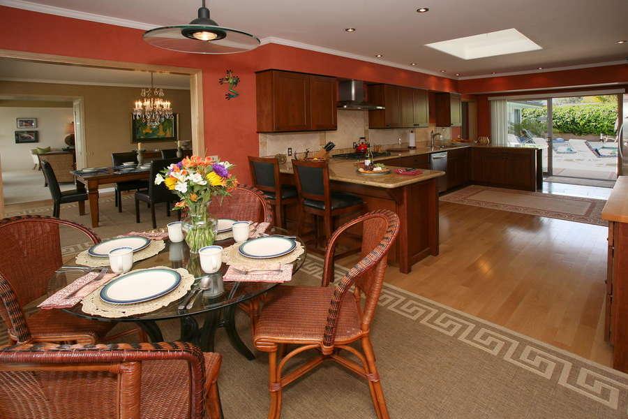 Breakfast Room off Kitchen