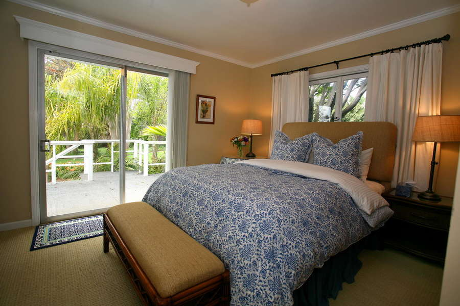 Bedroom #4 w/garden views