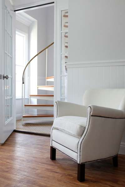 Stairs in Master Bedroom to Loft