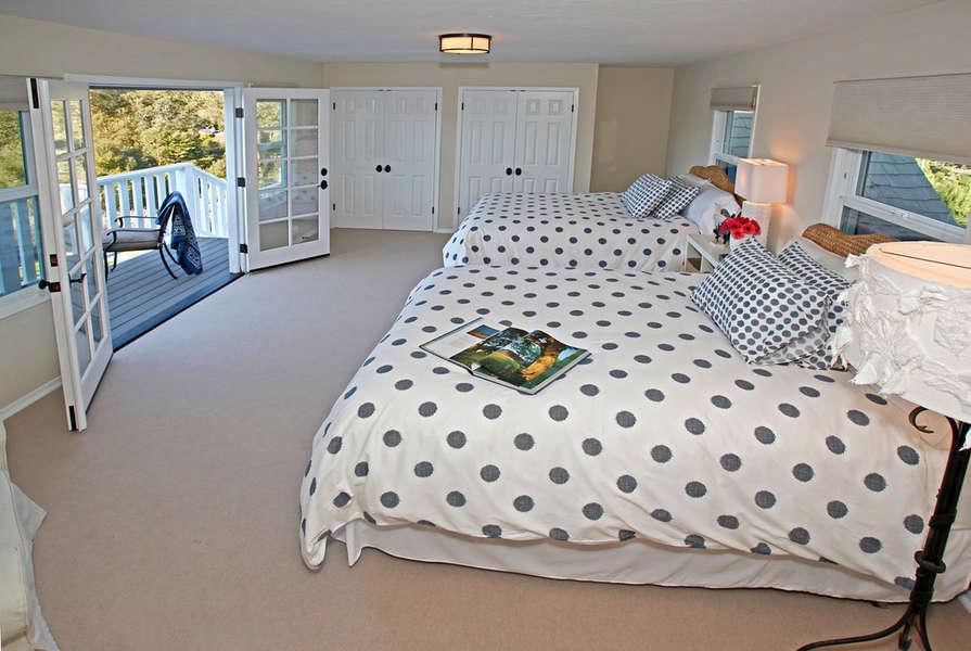 Bedroom #3 with 2 queen-size beds