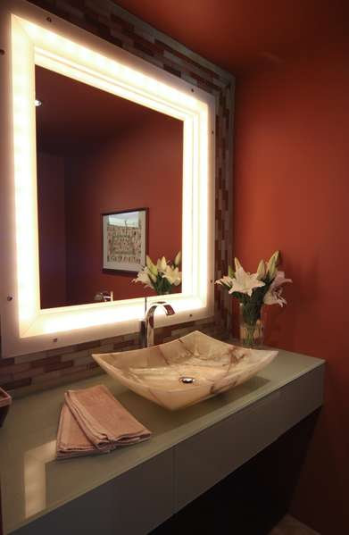 Elegant and sophisticated Powder Room