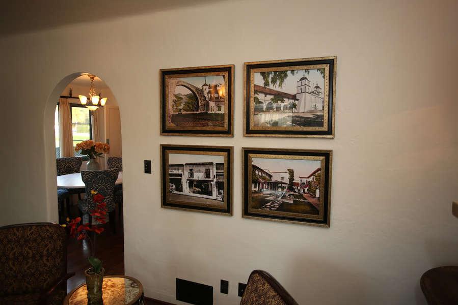 Photos display historic old Santa Barbara