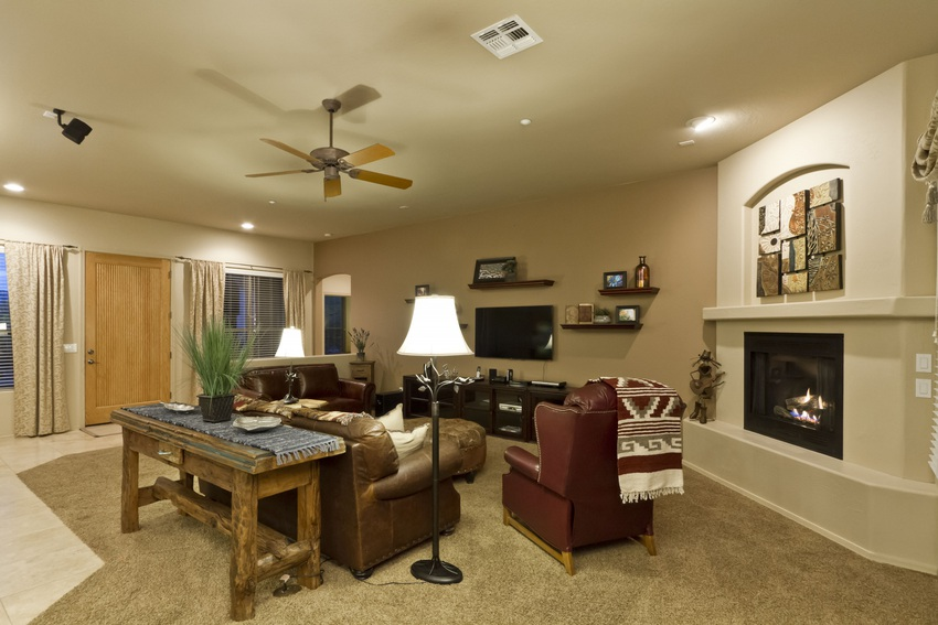 A nice open floor plan makes this rental feel like home