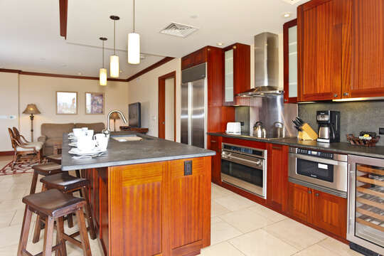 Your Kitchen comes Fully Equipped with Everything You'll Need