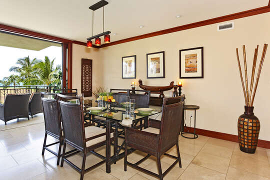 Dining Area with View