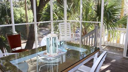 Or just it with a cool drink under the shade of the live oak trees.