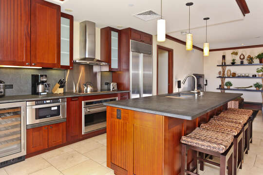 Large Kitchen with Everything You'll Need for Your Stay