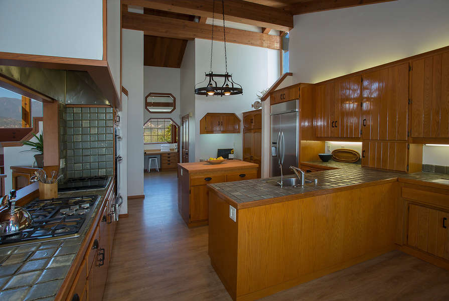 A perfectly outfitted Kitchen