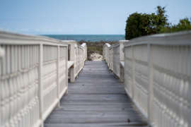 Private boardwalk