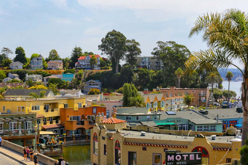 View Of Capitola Village From Upstairs Balcony
