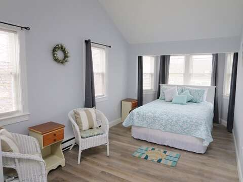 2nd floor Bedroom #1 with 1 Queen bed - 11 Oyster Drive Chatham Cape Cod New England Vacation Rentals