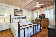 Guest Cottage Bedroom with King-Size Bed