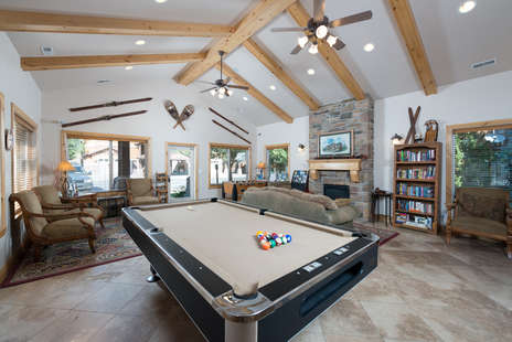 Club House Pool Table & Foosball Table