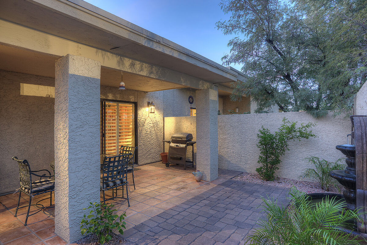 Home has outdoor dining and BBQ
