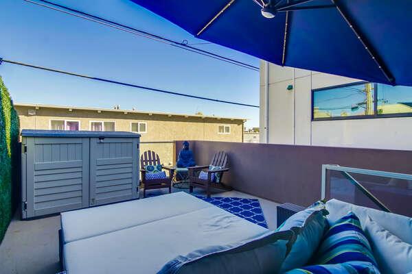 Sun deck -  2nd Floor