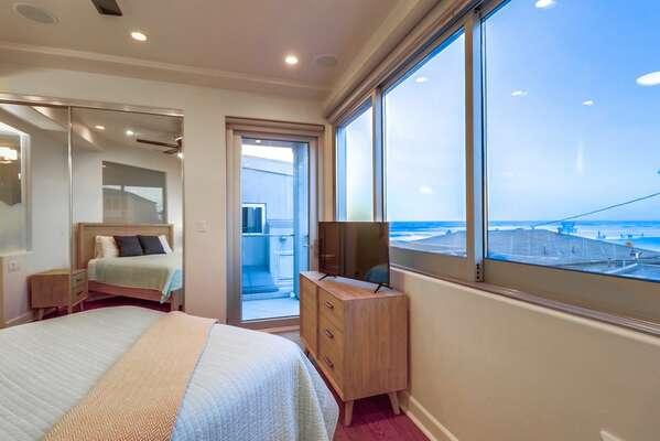 Ocean Views from Bedroom 1 - Second Floor