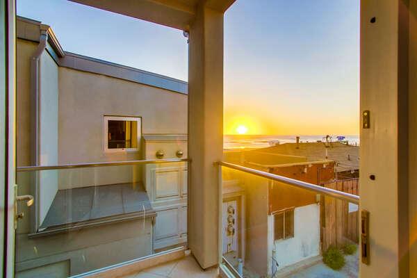 Balcony off of Bedroom 1