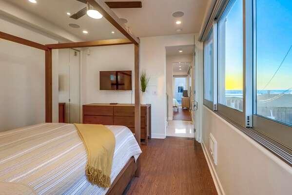 Bedroom 2  Ocean Views - Second Floor