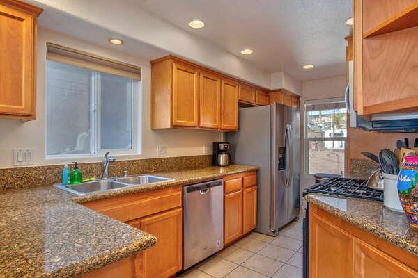 Kitchen-Fully Stocked! - Second Floor
