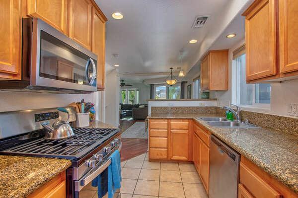Kitchen, Brand New Appliances! - Second Floor
