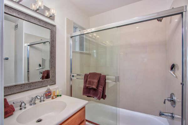 Guest Bedroom En-Suite Bath, Second Floor