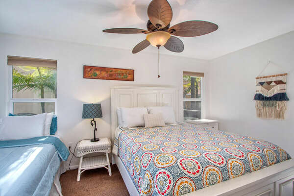 Guest Bedroom, Queen + Twin - First Floor